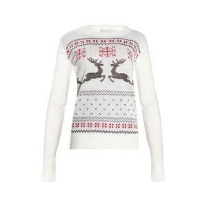 Canada Weather Gear winter fair isle reindeer knit
